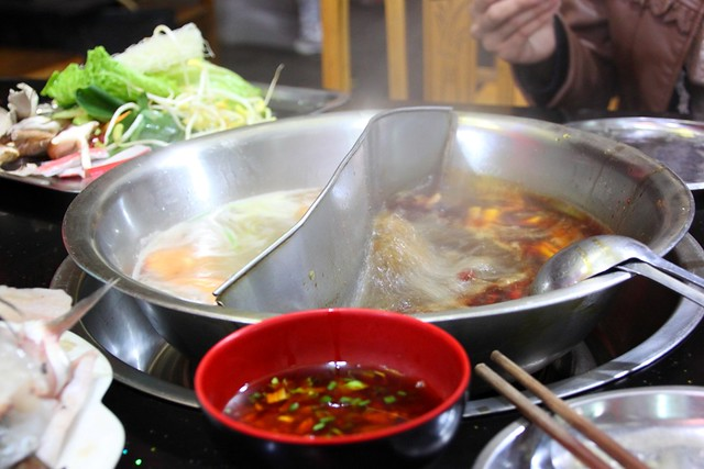 Hot pot in Mala style