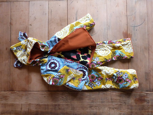 Toddler Travelling Suit, Velveteen & Neon Leopard Print