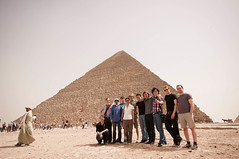 Digiensemble Berlin visiting the pyramids