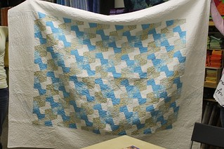 Geometric Quilt by Dana