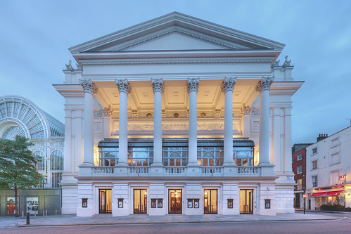 Exterior of Royal Opera House