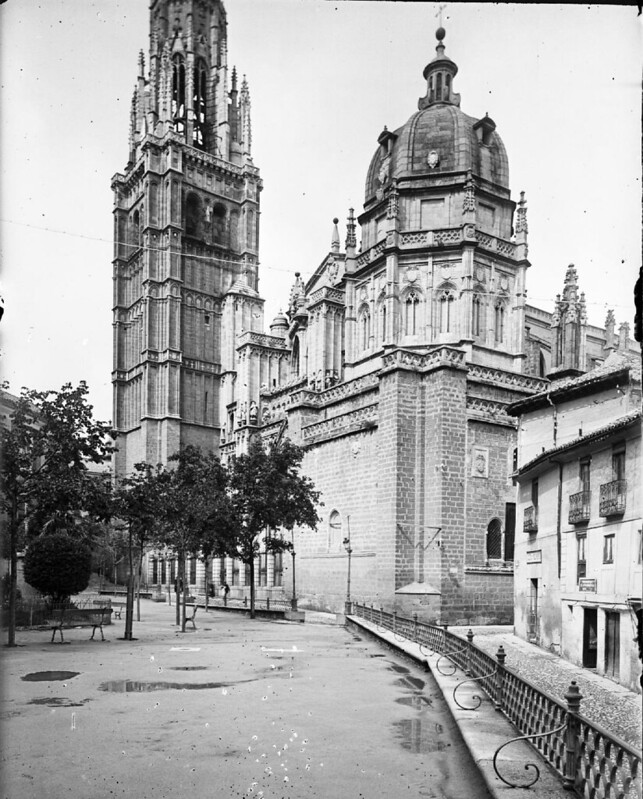 Catedral en los años 20. Fotografía de Otto Wünderlich. © Fototeca del Patrimonio Histórico