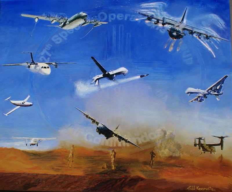 Air Force Art by Official Military Art