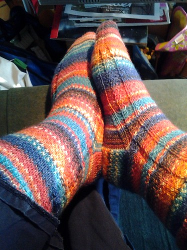 finished aquaophobia socks