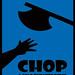 CHOP poster blue
