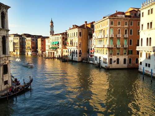 Venice during the golden hour