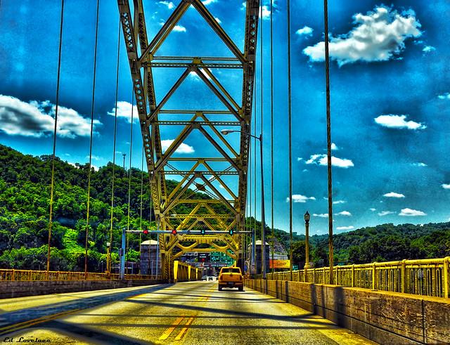 The West End Bridge - Pittsburgh Pennsylvania