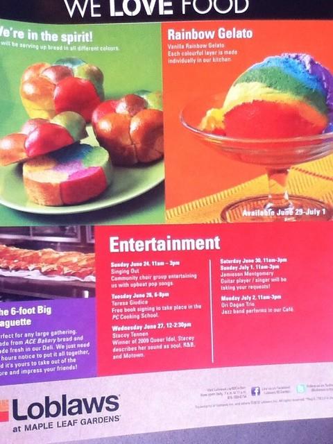 Rainbow Gelato