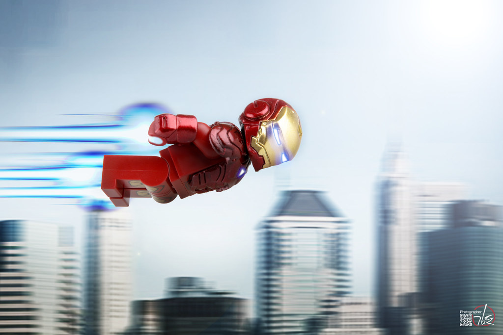 lego custom IRON MAN