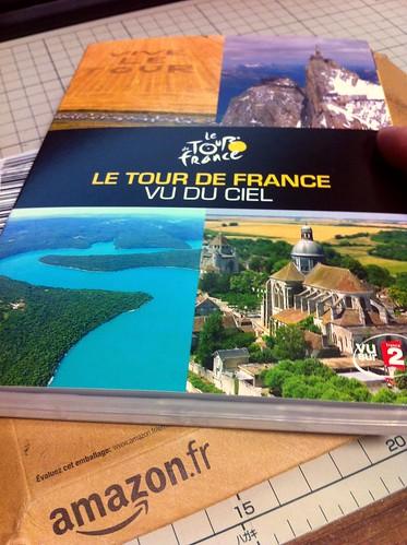空から見たツール・ド・フランス
