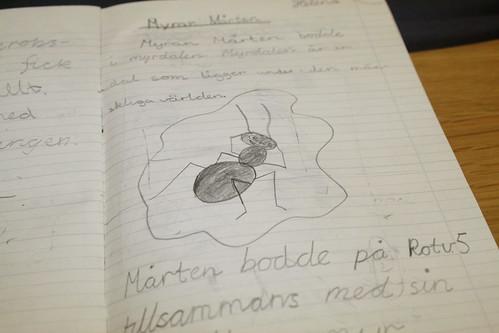 Myran Mårten - alster från tredje klass
