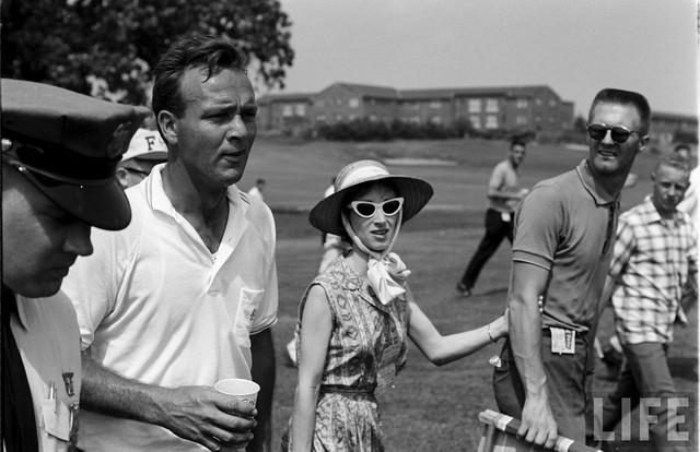 Arnold Palmer in Munsingwear