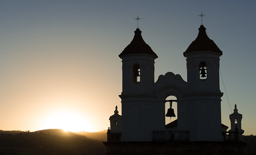 sunset bolivia sucre conventodesanfelipedeneri