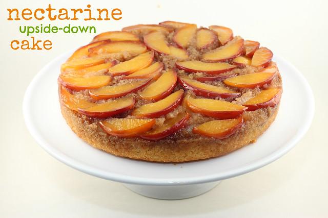Nectarine Upside-Down Cake