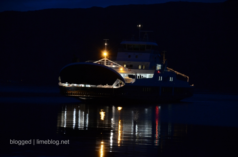 summer vacation 2012 | ferry in the middle of the night