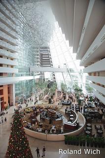 Singapore - Marina Bay Sands Hotel Lobby
