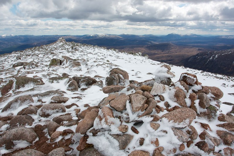 Summit of Derry Cairngorm