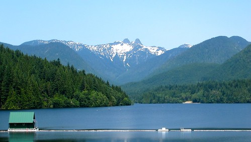 Capilano Lake & The Lions