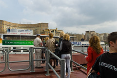 Embarquement pour une croisière sur la Moskova