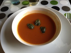 Friday Night Dinner: tomato soup