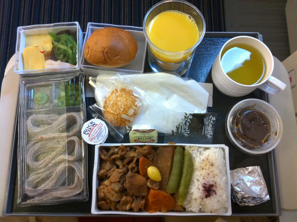 Okay, so this was airplane food.  But it still applies!