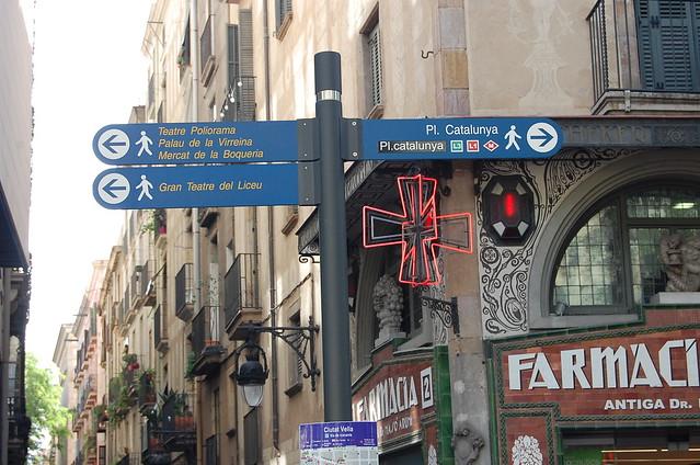Las Ramblas itinerary