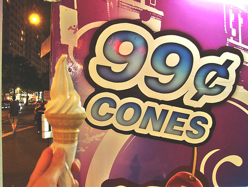 99 cent ice cream cone