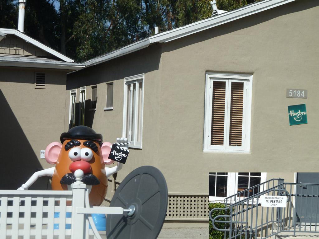 Universal Studio Домики для администрации съемоных групп