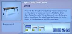 Pylon Chain Glam Table