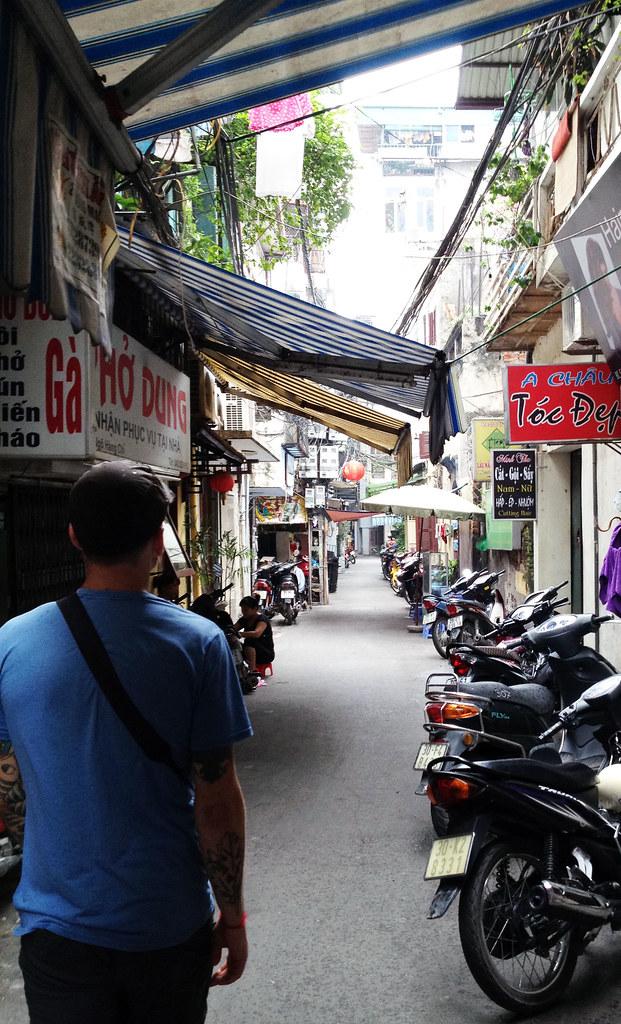 Street in Hanoi.
