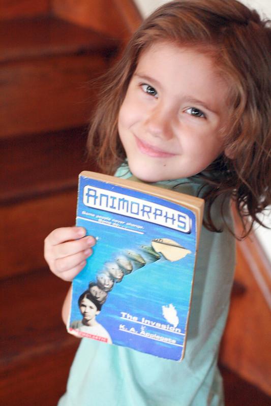 Eliza's Reads: Animorphs #1