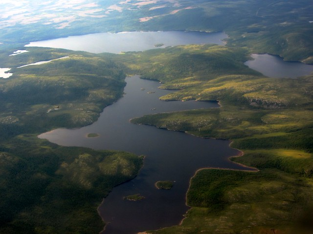 Newfoundland Lakes from the Air