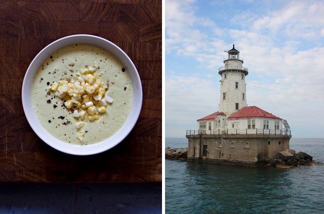 Chowder and Lighthouse