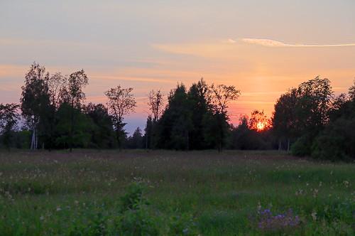 sunset sun estonia pentax hdr eesti päike k7 soomaa loojang heinamaa viljandimaa pentaxk7 kõpuvald tipuküla