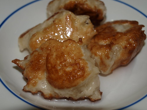 Puffed Fritters in Syrup