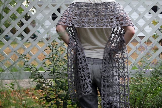 spring woods shawl