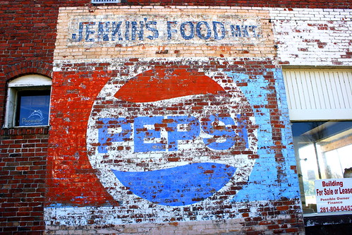 Fading Pepsi Wall ad - Trimble, TN