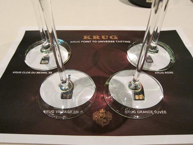Krug Champagne Dinner at 8 1/2 Otto e Mezzo