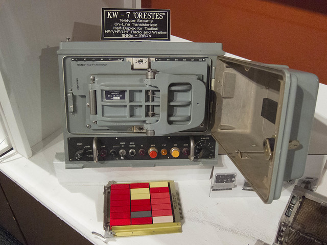 KW-7 Orestes Teletype Security