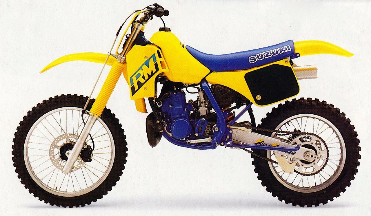 Old School Suzuki Graphics