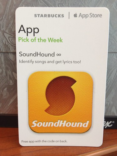 Starbucks iTunes Pick of the Week