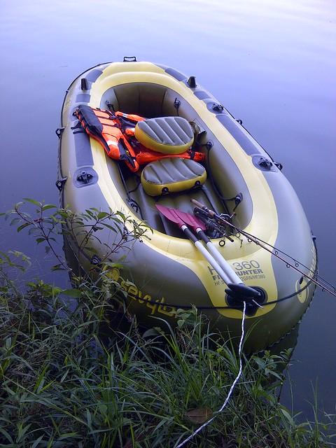Sevylor fish hunter hf 360 flickr photo sharing for Sevylor fish hunter 360