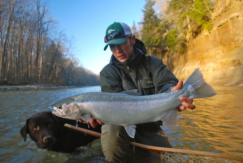 Tuesday tip the right gear for great lakes steelhead for Steelhead fishing gear