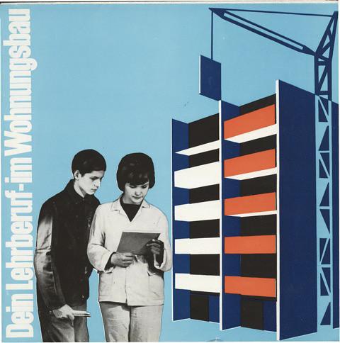 slg parschau broschüre wbk frankfurt lehrberuf wohnungsbau 1967