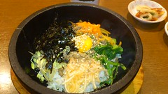 noodle(0.0), fish(0.0), produce(0.0), udon(0.0), meal(1.0), vegetable(1.0), bibimbap(1.0), food(1.0), dish(1.0), cuisine(1.0),