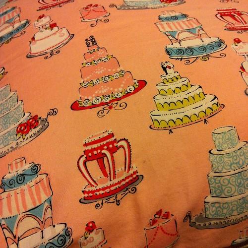 Cake fabric.