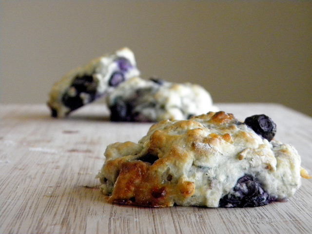 Blueberry and White Chocolate Buttermilk Scones