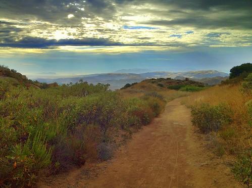 california sunset hiking trail iphone rockypeak prohdr