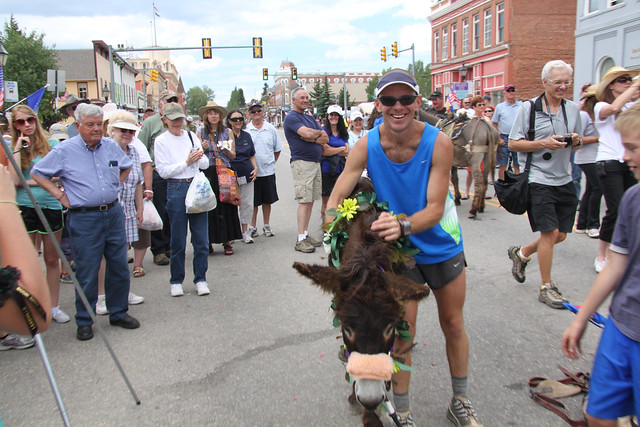 Leadville Boom Days Burro Race 2012