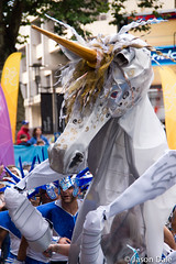 Unicorn At Cardiff MAS Carnival